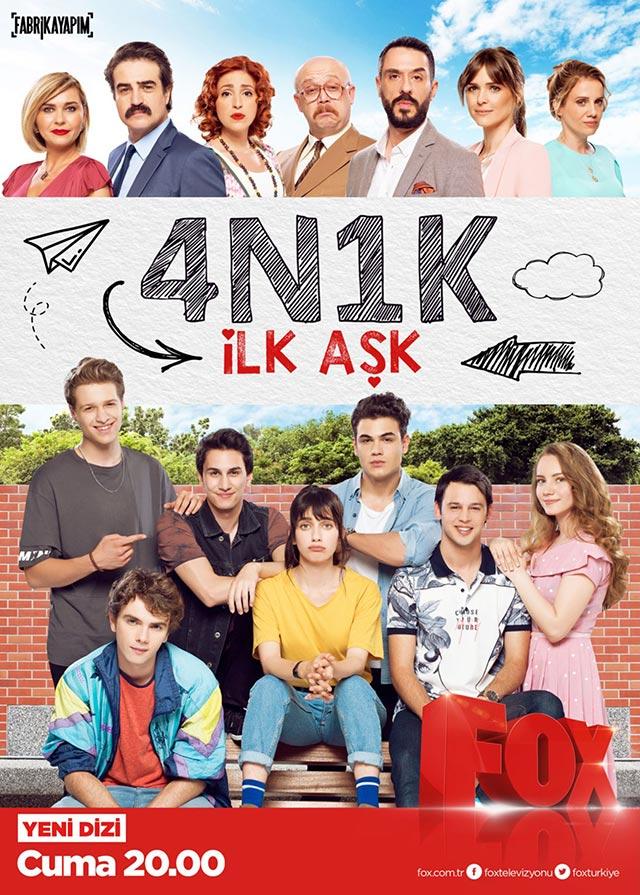 4N1K İlk Aşk Afişi ve Posteri, Afişleri, Afiş Resimleri-1