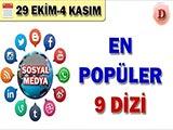 Sosyal Medyada En Popüler Diziler - 2018 Ekim