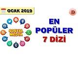 Sosyal Medyada En Popüler Diziler - 2019 Ocak